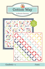 Confetti + 1 Quilt Pattern by Cotton Way