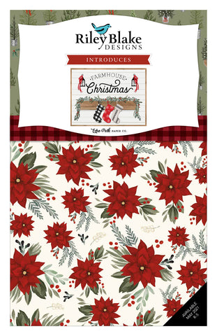 "PREORDER Farmhouse Christmas 5"" Stacker by Echo Park Paper Co. for Riley Blake Designs"
