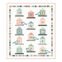 Garden Birds Quilt Pattern by Poppie Cotton Fabrics