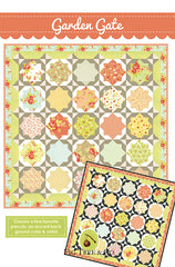 Garden Gate Quilt Pattern by Fig Tree & Co.