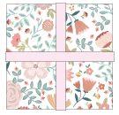 "Goose Creek Gardens 5"" Precuts by Lori Woods for Poppie Cotton Fabrics"
