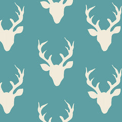 Hello Bear Lake Buck Forest Yardage by Bonnie Christine for Art Gallery Fabrics