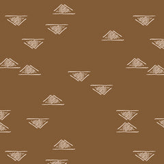 Homebody Domestic Charm Walnut Yardage by Maureen Cracknell for Art Gallery Fabrics