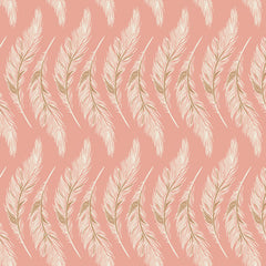 Homebody Presently Plumes Rose Yardage by Maureen Cracknell for Art Gallery Fabrics