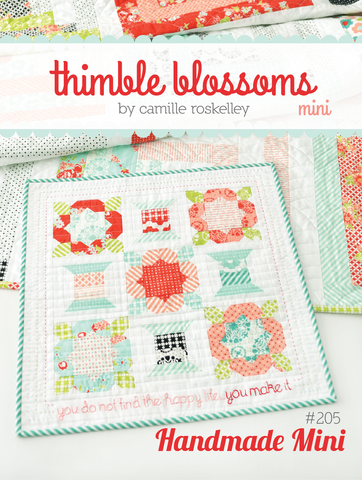 Handmade Mini Quilt Pattern by Thimble Blossoms