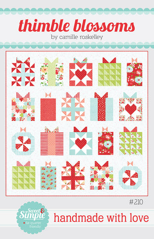 Handmade With Love Quilt Pattern by Thimble Blossoms