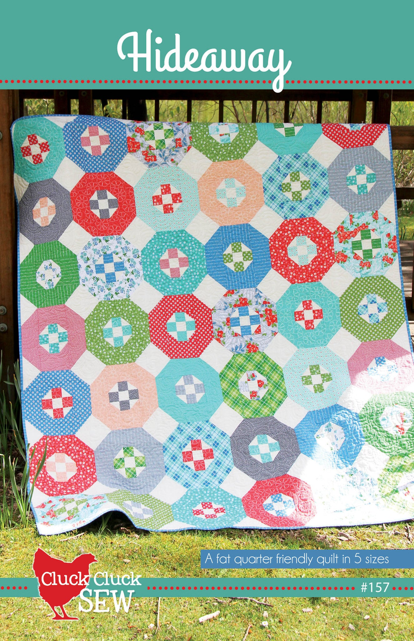 Hideaway Quilt Pattern by Cluck Cluck Sew