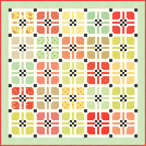 Hopscotch Quilt Pattern by Fig Tree & Co.