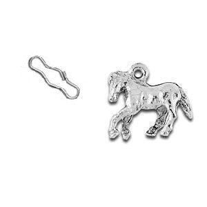 Horse Zipper Pull or Sewing Charm