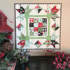 Picking Petals Mini Quilt Kit featuring Comfort & Joy