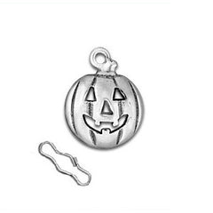 Jackolantern Zipper Pull or Sewing Charm