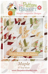 Maple Quilt Pattern by The Pattern Basket