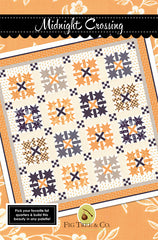 Midnight Crossing Quilt Pattern by Fig Tree & Co