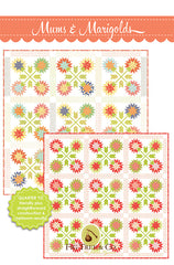 Mums & Marigolds Quilt Pattern by Fig Tree & Co.