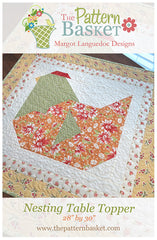 Nesting Table Topper Mini Quilt Pattern