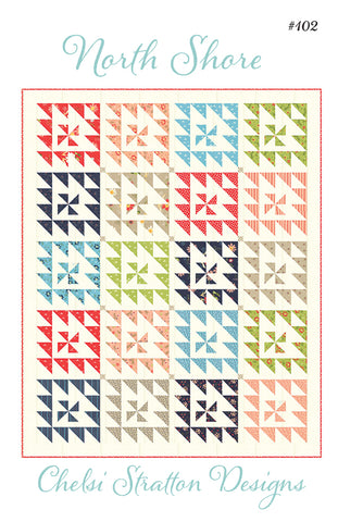 North Shore Quilt Pattern by Chelsi Stratton Designs