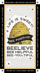 Bee's Life Panel by Tara Reed for Riley Blake Designs