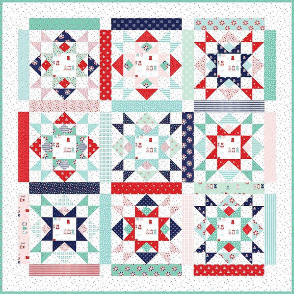 Joyful Quilt Pattern by Tasha Noel