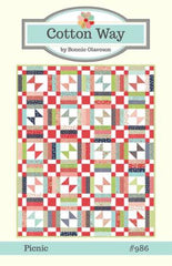 Picnic Quilt Pattern by Cotton Way