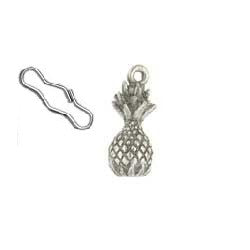 Pineapple Zipper Pull or Sewing Charm