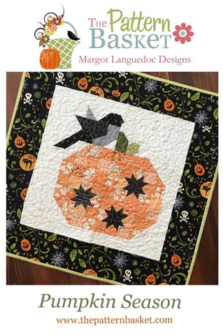 Pumpkin Season Mini Quilt Pattern by The Pattern Basket