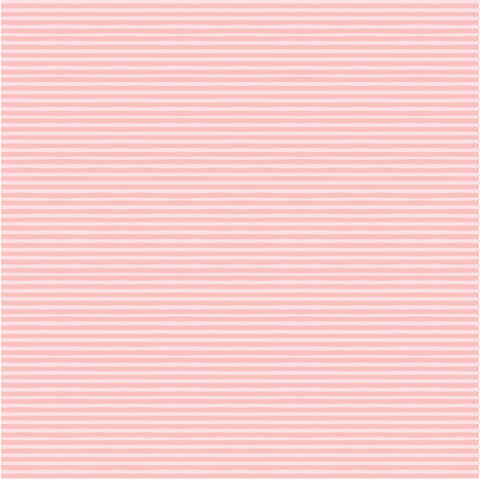 Goose Creek Gardens Pink Water Ripples Yardage by Lori Woods for Poppie Cotton Fabrics