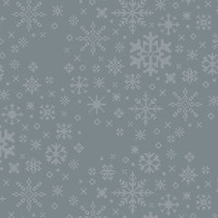 Snow Day Ice Crystals Yardage by Mister Domestic for Art Gallery Fabrics