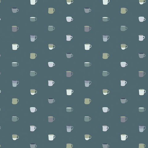 Snow Day Drink it Up Yardage by Mister Domestic for Art Gallery Fabrics