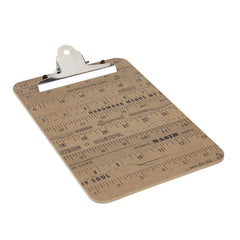 Wood Ruler Clip Board Small by Stacy West of Buttermilk Basin Metal Goods