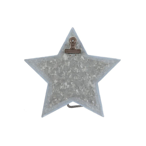 Metal Star Clip Easel by Stacy West of Buttermilk Basin Metal Goods