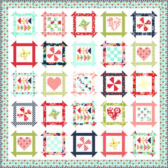 PREORDER Summer Days Quilt Kit featuring Shine On by Bonnie & Camille