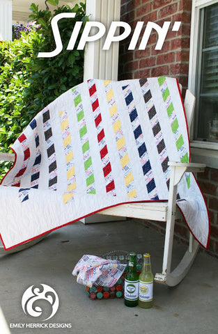 Sippin' Quilt Pattern by Emily Herrick Designs