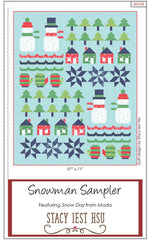 Snowman Sampler Quilt Pattern by Stacy Iest Hsu