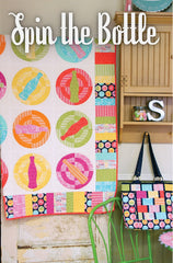 Spin the Bottle Quilt Pattern by Emily Herrick Designs