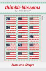 Stars And Stripes Quilt Pattern by Thimble Blossoms