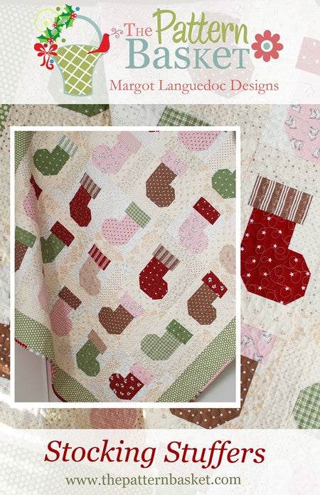 Stocking Stuffers Quilt Pattern by Margot Languedoc of The Pattern Basket