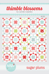 Sugar Plums Quilt Pattern by Thimble Blossoms