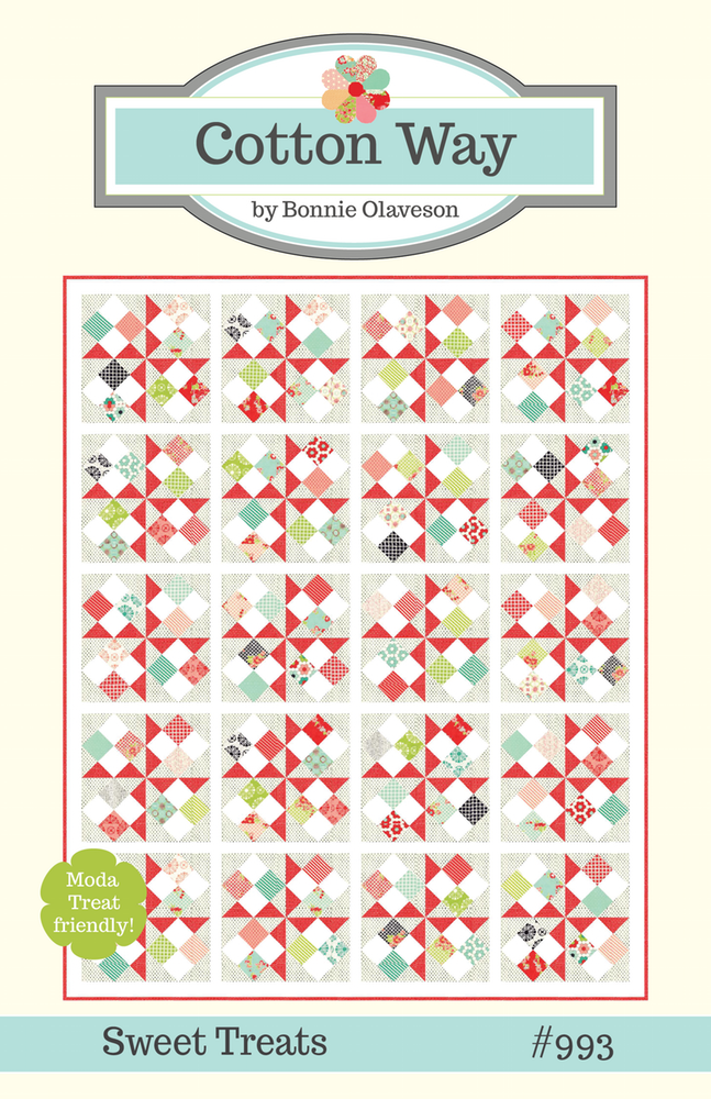 Sweet Treats Quilt Pattern by Cotton Way