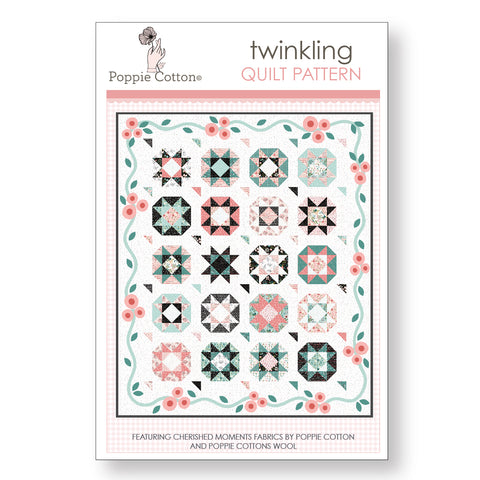 Twinkling Quilt Pattern by Poppie Cotton Fabrics