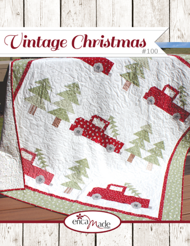Vintage Christmas Quilt Pattern by Erica Made Designs