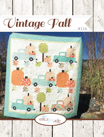 Vintage Fall Quilt Pattern by Erica Made Designs