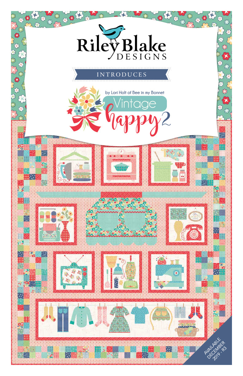 Quilter's Cottage Pattern Book by Lori Holt of Bee in my Bonnet for It's Sew Emma