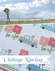 Vintage Spring Quilt Pattern by Erica Made Designs