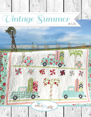 Vintage Summer Quilt Pattern by Erica Made Designs
