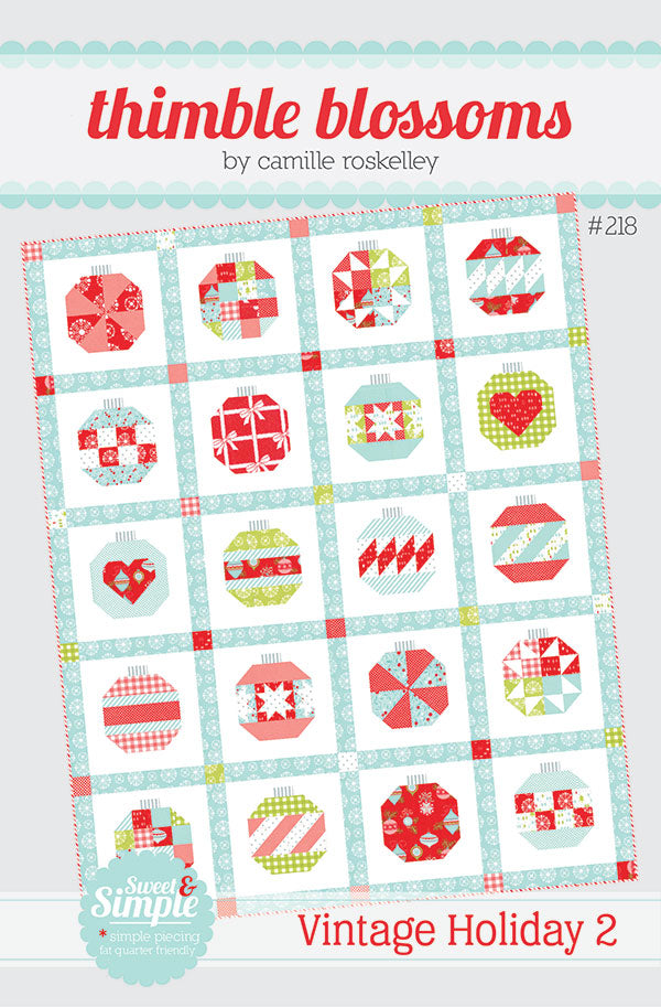 Vintage Holiday 2 Quilt Pattern by Thimble Blossoms