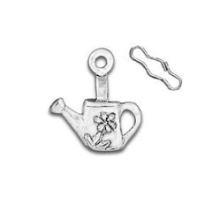 Watering Can Zipper Pull or Sewing Charm