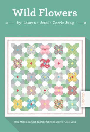 Wild Flowers Quilt Pattern by the Jung's