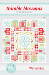 Winterville Quilt Pattern by Thimble Blossoms