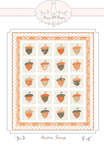 Acorn Soup Quilt Pattern by Bunny Hill Designs