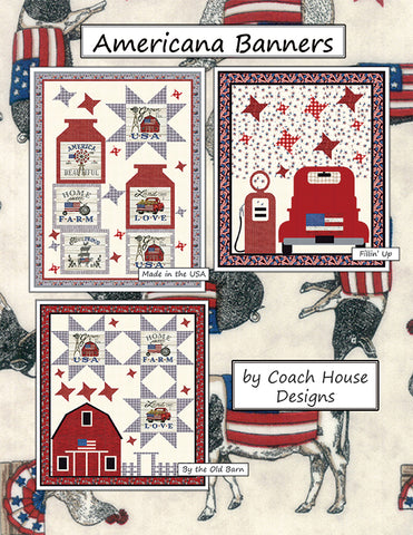 Americana Banners Quilt Pattern by Coach House Designs